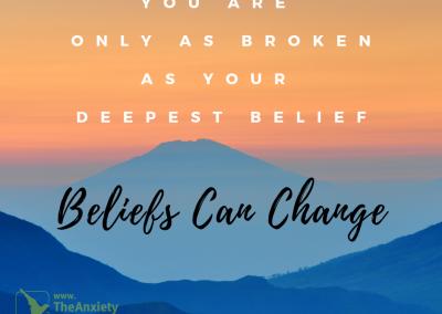 Beliefs can Change